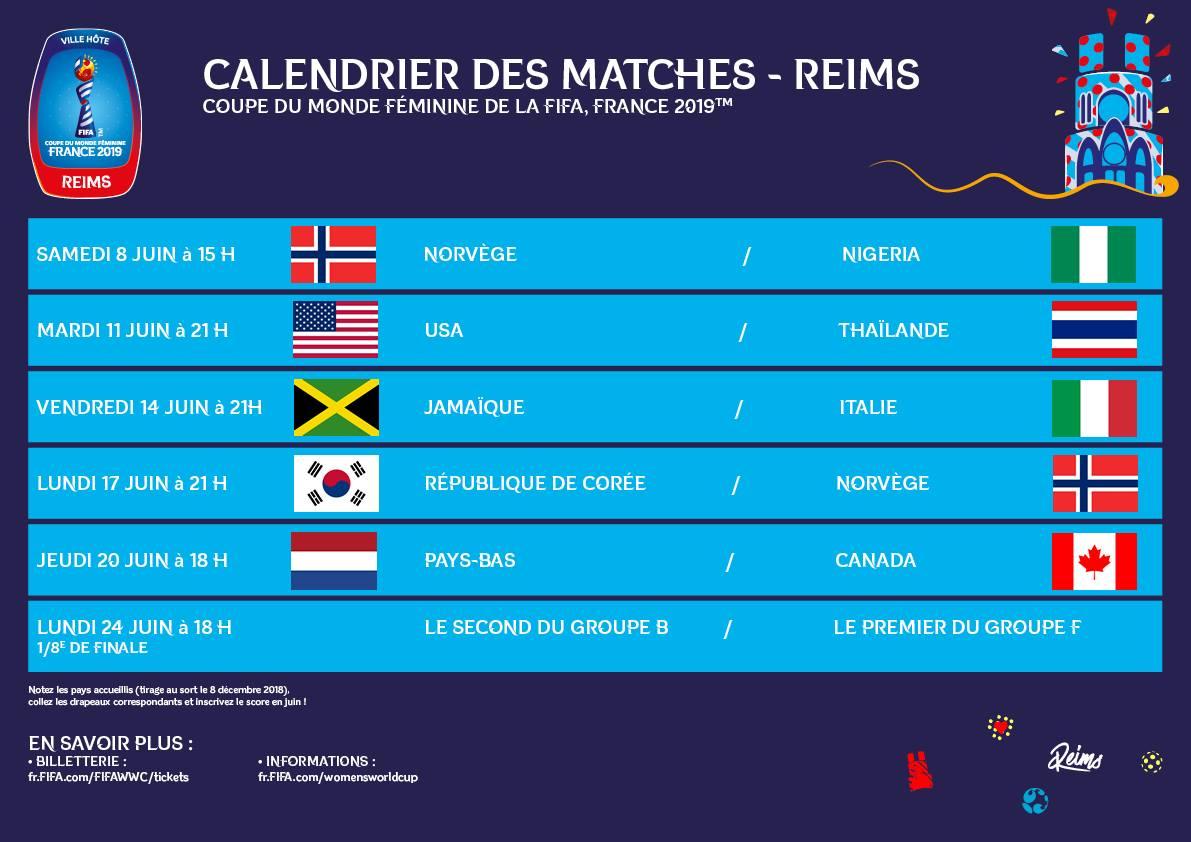 Coupe Du Monde Feminine 2019 Calendrier Stade.Actualite Mondial 2019 Republique De Coree Club